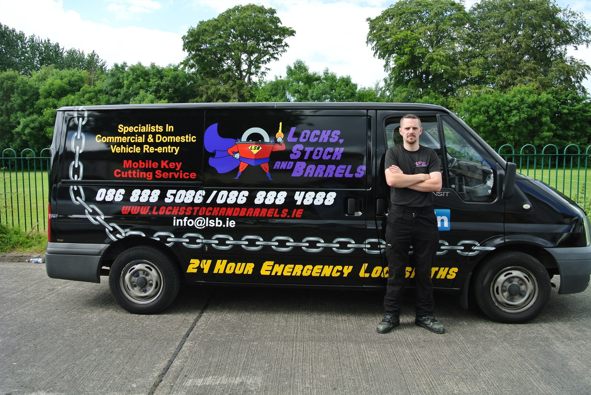 locksmith-dublin-with-van